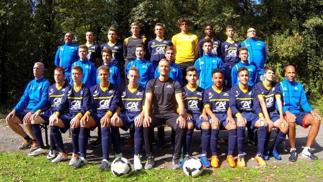 Equipe U16 - Saison 2016/2017