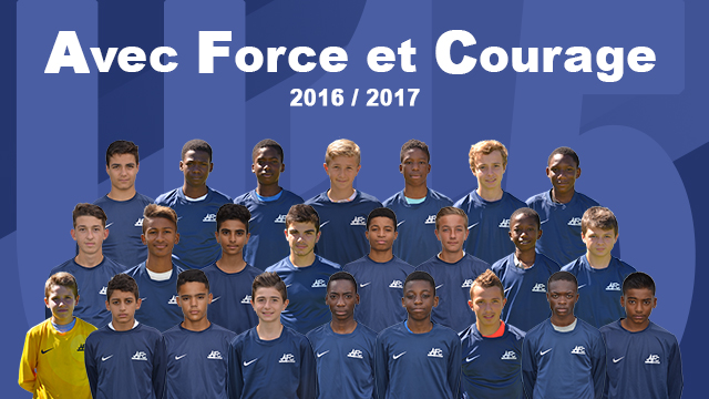 Photo groupe U15 - 2016/2017