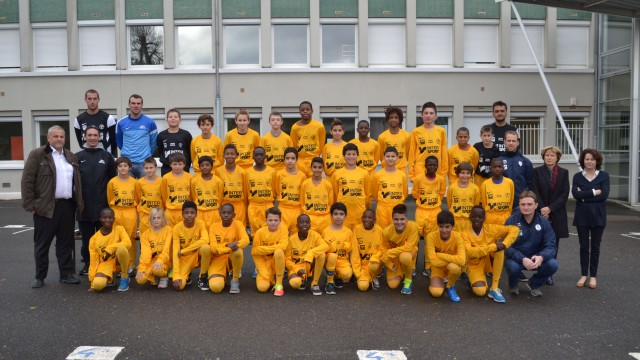 Photo Officiel - Section Sportive AFC Compiègne - Collège Gaetan Denain