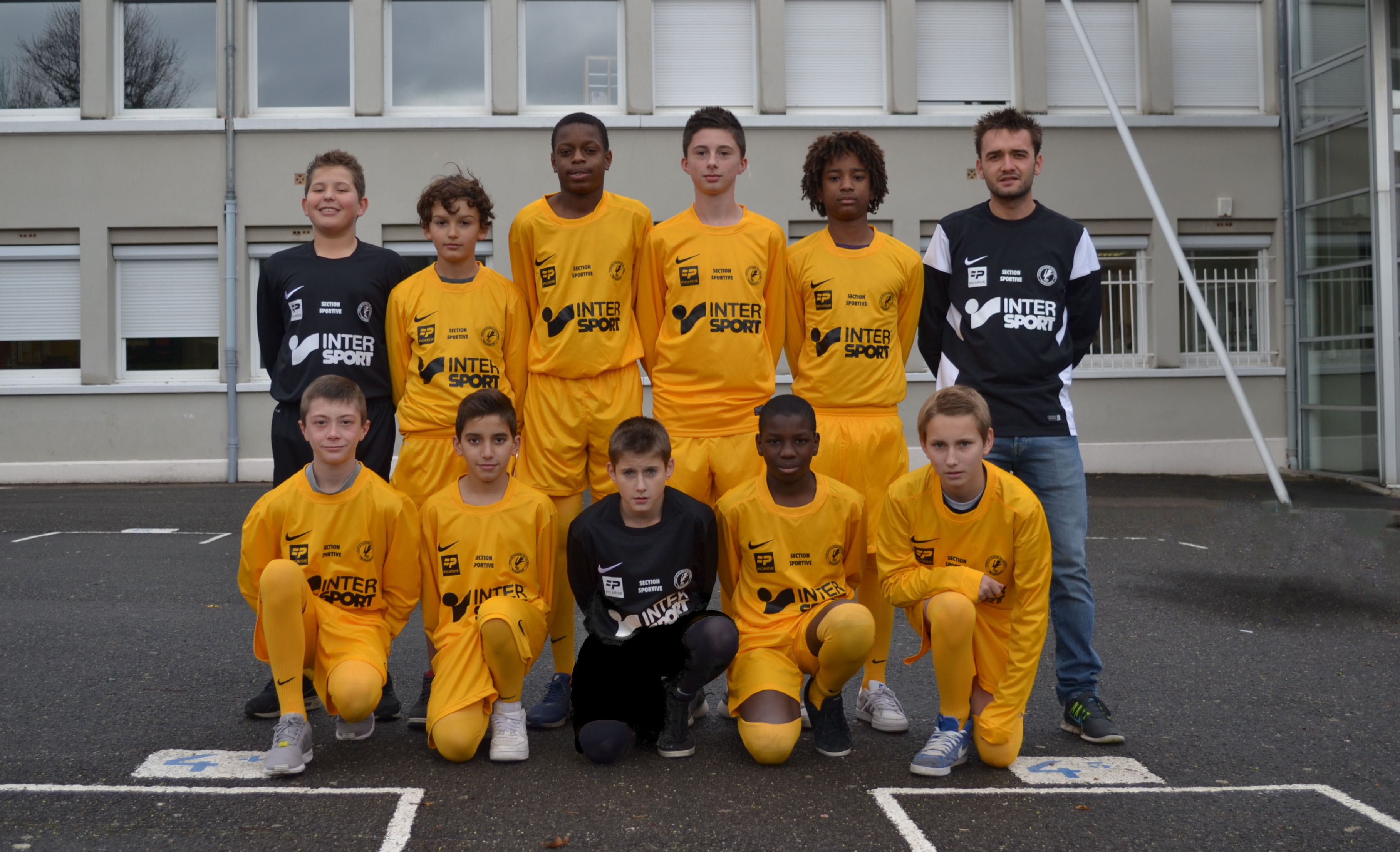 Photo officiel section sportive 2014/2015 - 4ème