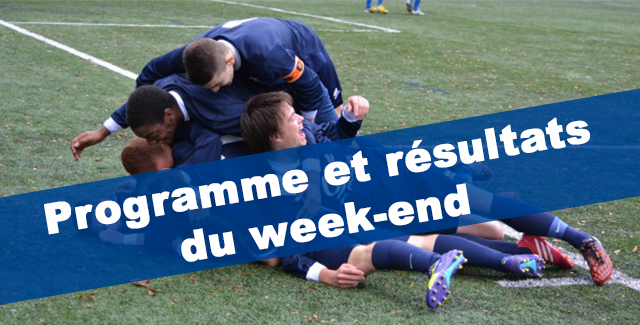 Image Matchs & Resultats du week-end