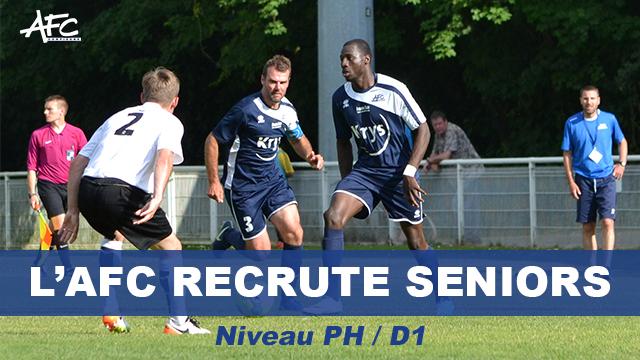 L'AFC recrute