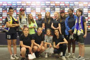 Visite des U18F au Camp Nou