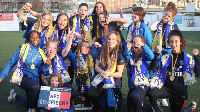 Victoire U18F au tournoi San Jaime