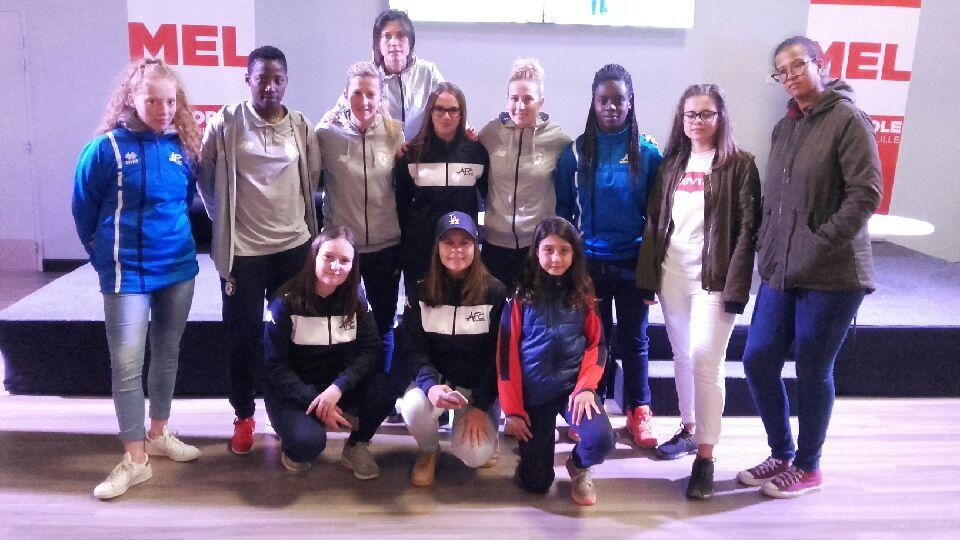 Rencontre équipe Montpelier & Losc