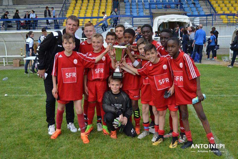 vainqueur U12 St Quentin