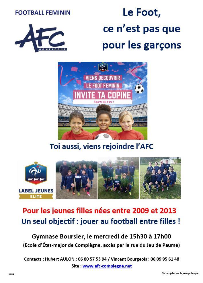 Affiche école de foot V2