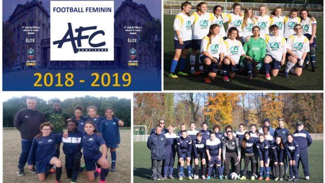 Equipes féminines 2018-2019 V4