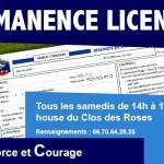 Permanence licences AFC Compiègne